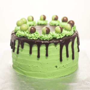 Aero mint cake