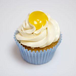 gluten free lemon cupcake