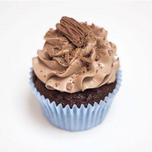 gluten free flake cupcake